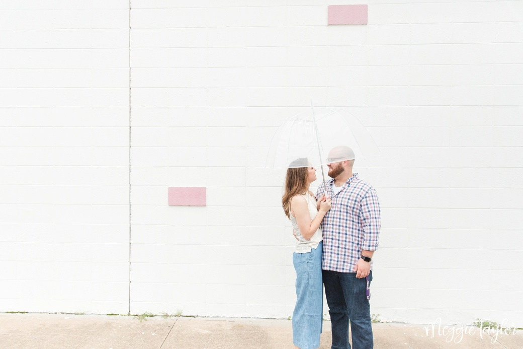 Rainy Day Downtown Engagement_0975