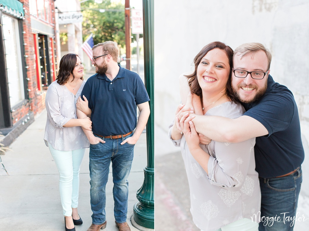 Downtown McKinney Engagement Session_1423
